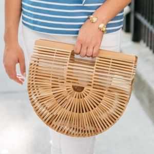 Cult Gaia Small Ark Bamboo Bag